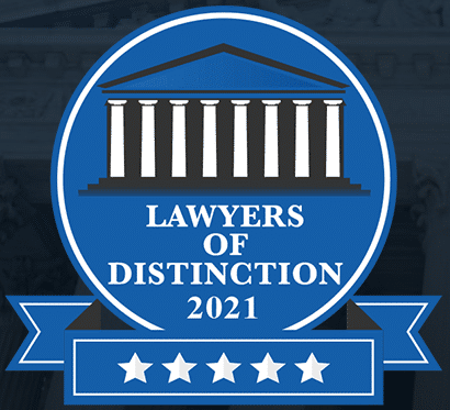 LVB - Lawyers of Distinction 2021